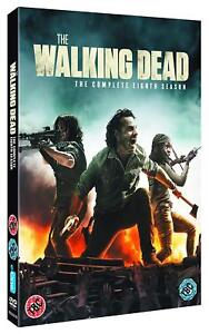 THE-WALKING-DEAD-8-2017-2018-Zombie-Action-TV-Season-Series-NEW-Rg2-DVD-not-US