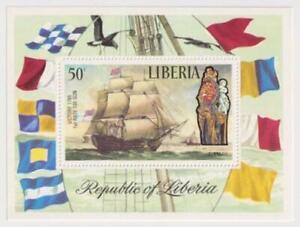 Liberia-Airmail-Sailing-Ships-1972-MNH