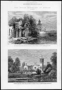 1881-Antique-Print-GERMANY-BERLIN-Royal-Marriage-Potsdam-Prinkenau-Silesia-128