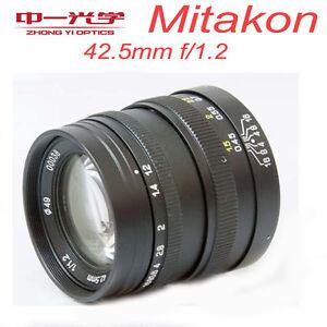 Zhongyi-Mitakon-42-5mm-f-1-2-fuer-Micro-Four-Thirds-Kamera-M4-3-MFT-OM-D-BMPCC