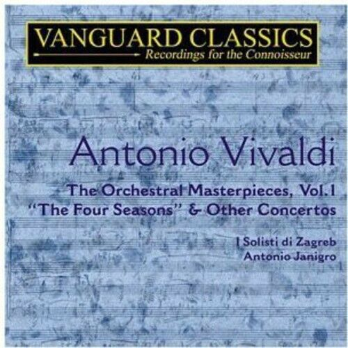 Antonio Janigro, A. Vivaldi - Four Seasons [New CD]