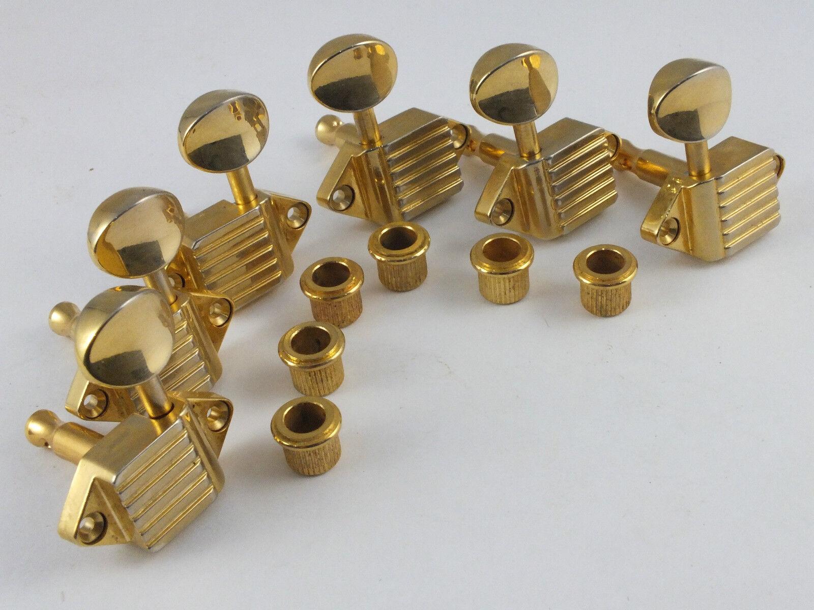 Im Alter von Kluson 3 A-Seite Waffelstruktur Mechanik gold sk900slg / O oval