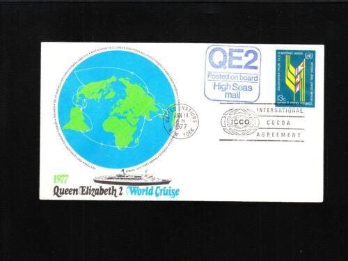 Great Britain Queen Elizabeth Last World Tour Cover & Insert Unaddressed 6z