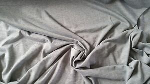 Sweatshirt Knit Jersey Loop Back Stretch Fabric Dresses Hoodies Grey Melange - Birmingham, United Kingdom - Sweatshirt Knit Jersey Loop Back Stretch Fabric Dresses Hoodies Grey Melange - Birmingham, United Kingdom