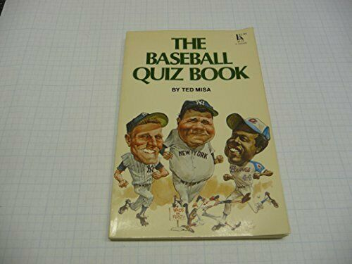 The Baseball Quiz Book by Misa, Ted Book The Fast Free Shipping