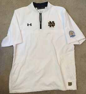 02835ea44c2847 2018 USED TEAM ISSUED NOTRE DAME FOOTBALL CITRUS BOWL UNDER ARMOUR 1 ...