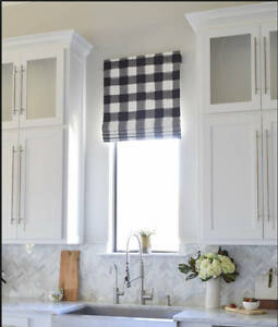 Image Is Loading Country Curtains Set Of 3 Blue Amp White