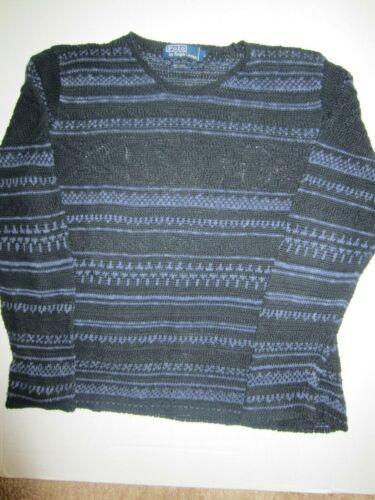 Polo Ralph Lauren Fair Isle Linen Blend Sweater, S