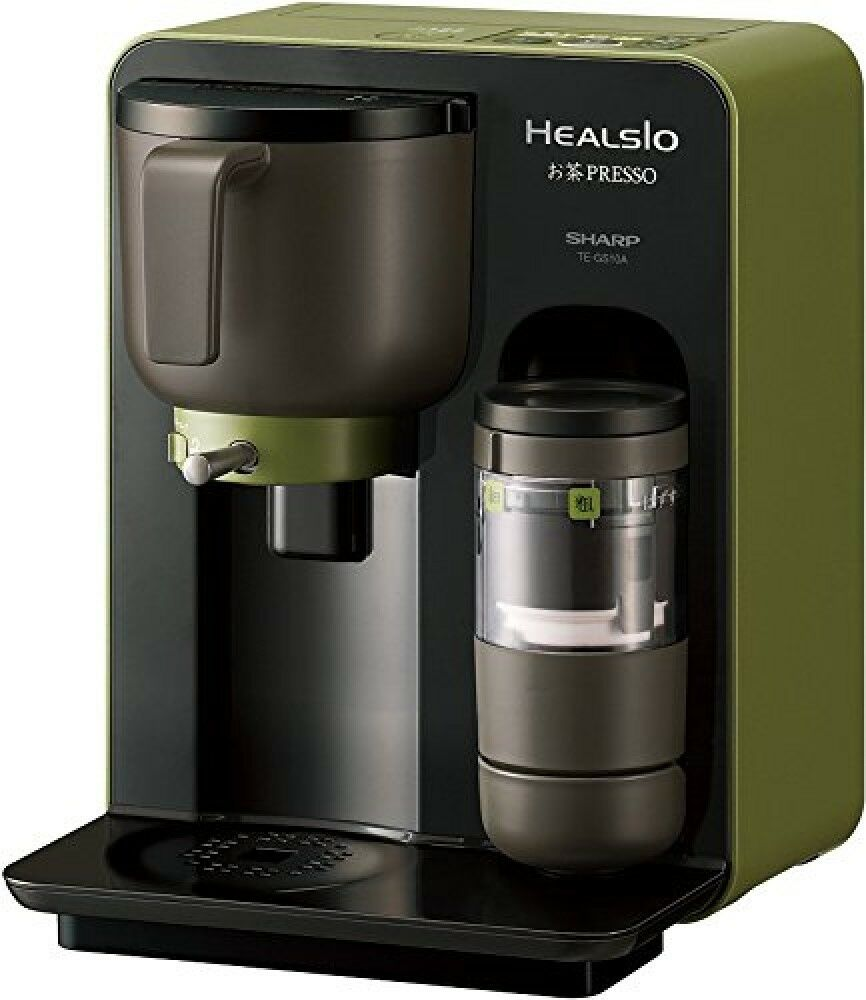 Sharp TE-GS10A healsio Ocha-Presso vert Tea Maker Noir Matcha Maker AC100V