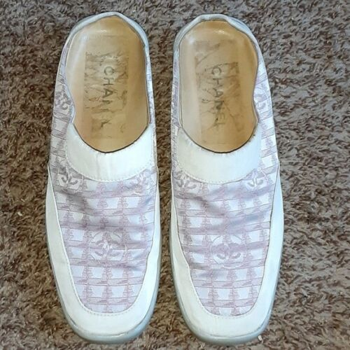 Vintage Chanel Shoes Loafers