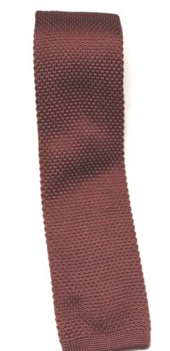 "Many Colors And Styles Mens Knit Knitted Neck Tie Woven Slim Square 2.5/"" 57-60"