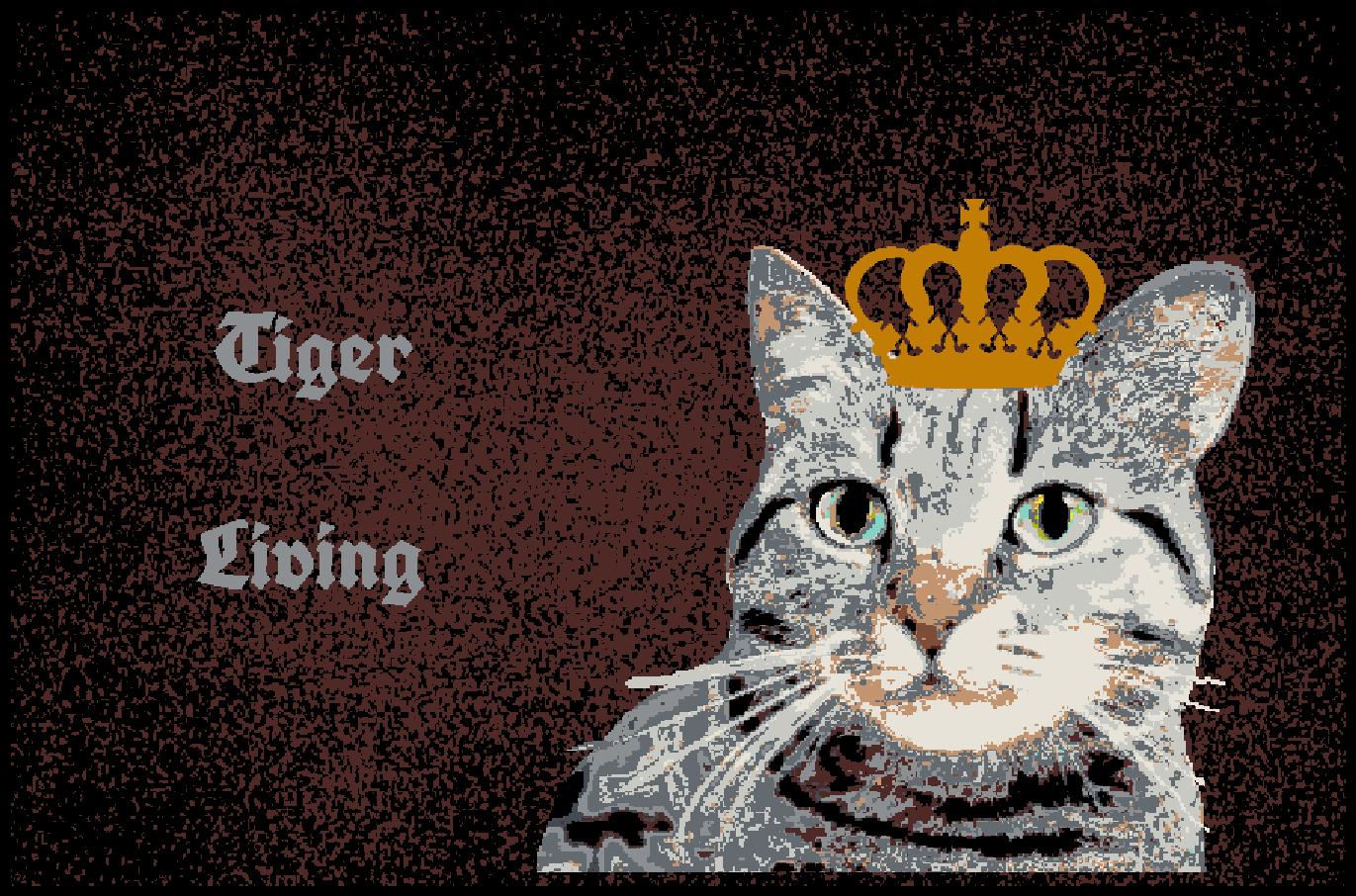 Fußmatte mit Namen Napfunterlage Katzenmatte  90x60 cm    Design 27180045   Online Shop  3ecb95