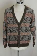BYBLOS 48 vintage cardigan maglione maglia sweater jumper H1038