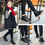 Kids-Boys-Girls-Ankle-Boots-Child-Toddler-Zipper-Chelsea-Leather-Martin-Shoes-AU