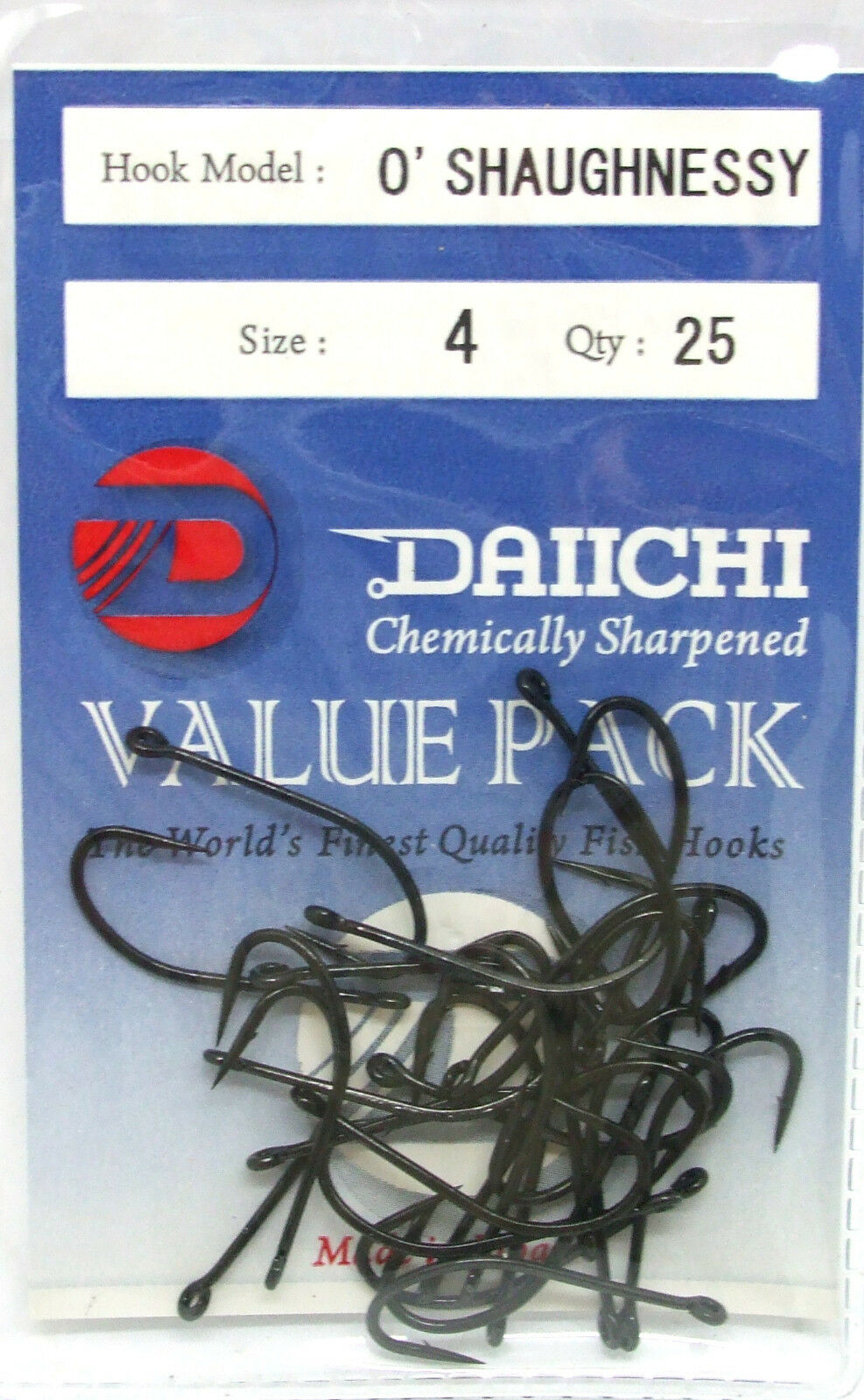 Gamakatsu O/'Shaughnessy 2 PACK LOT Choose Size 1//0-10//0   Free Shipping
