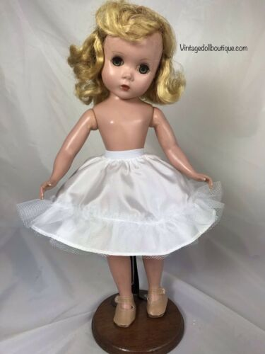 "White petticoat slip for 14"" Madame Alexander doll *more Colors Available*"
