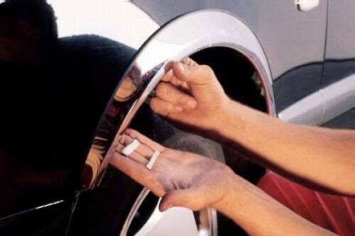 Opel Signum/' 03-05 radlauf las molduras frase delante//detrás 4 trozo-negro mate