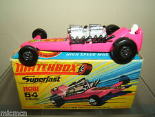 MATCHBOX SUPERFAST  MODEL No.64c SLINGSHOT DRAGSTER   MIB