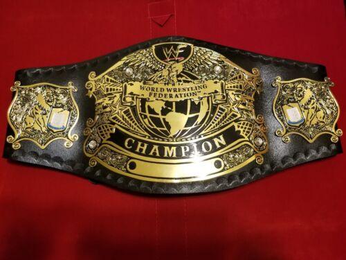 WWE Wrestling championship Belt Adult Size Replica Leather Plates Belt