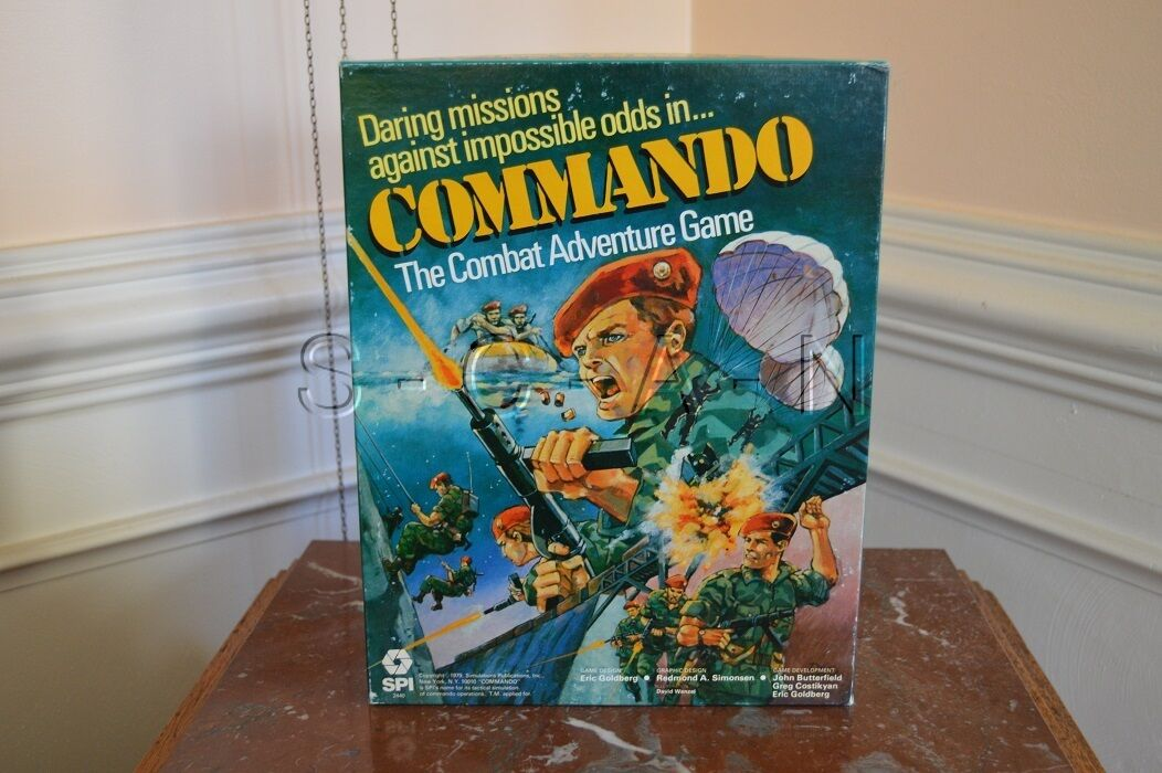 Commando- The Combat Avventura Gioco Rpg- , Spi - 1979