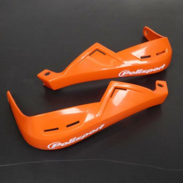 Protège main Polisport pour Moto Rieju 50 Mrt Pro Après 2018 8305100030 orange