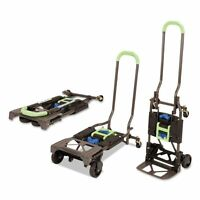 Cosco 2-in-1 Multi-position Hand Truck And Cart, 16 5/8 X 12 - Csc12222pbg1e on sale