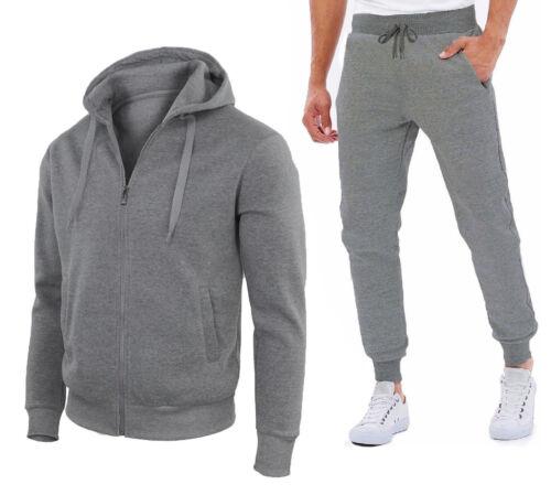 Con Pantalone E Tasche Mod Felpa Zip W1203 Felpati Tuta Maglia Uomo Sport TwqgFg