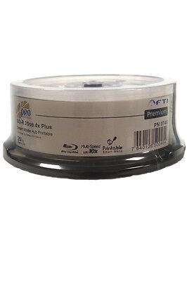 25x  Falcon BD-R Blu-Ray 4x Multi-Speed Smart Guard Water Resistant