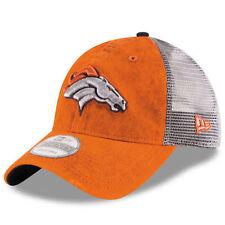 New Era Denver Broncos Orange Team Rustic 9TWENTY Adjustable Hat - NFL