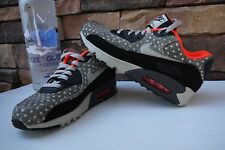 NIKE AIR MAX 90 LEATHER PREMIUM POLKA DOT MEN'S US 8 / UK 7.EU 41 666578-006