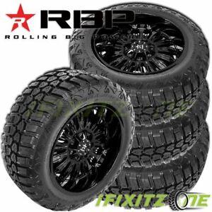 4-RBP-Repulsor-M-T-RX-285-65R18LT-125-122Q-E-10-All-Season-Jeep-Truck-Mud-Tires