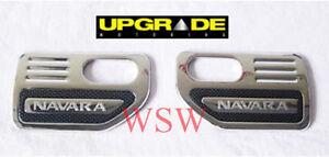 2-x-CHROME-SIDE-VENT-TRIM-FOR-NISSAN-NAVARA-D40-STX-SX-2005-2009-06-07-08-09