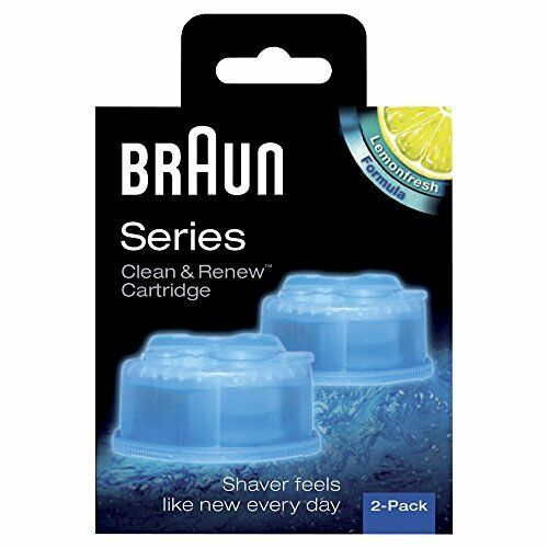 Braun Clean et Renew Cartouches de Recharge CCR - Pack de 2 Recharges NEW