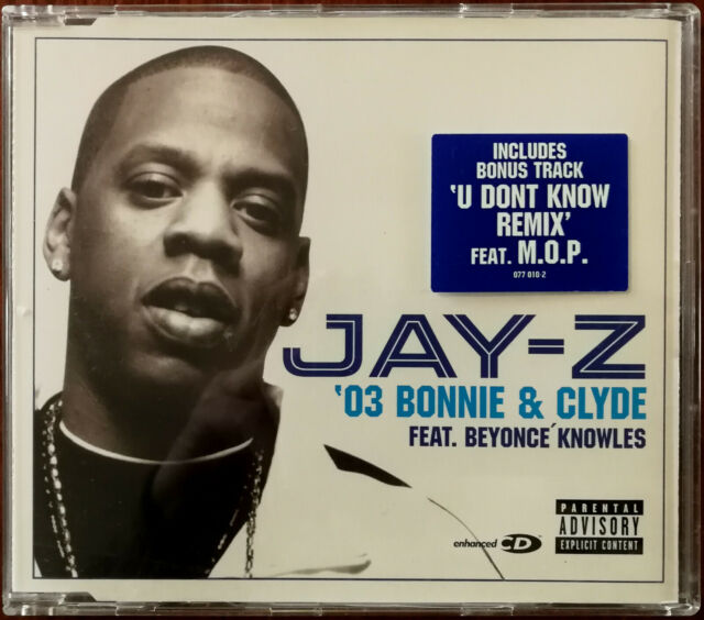 Jay Z Featuring Beyonce Knowles 03 Bonnie And Clyde Cd 4 Track Radio Edit B W U For Sale Online Ebay