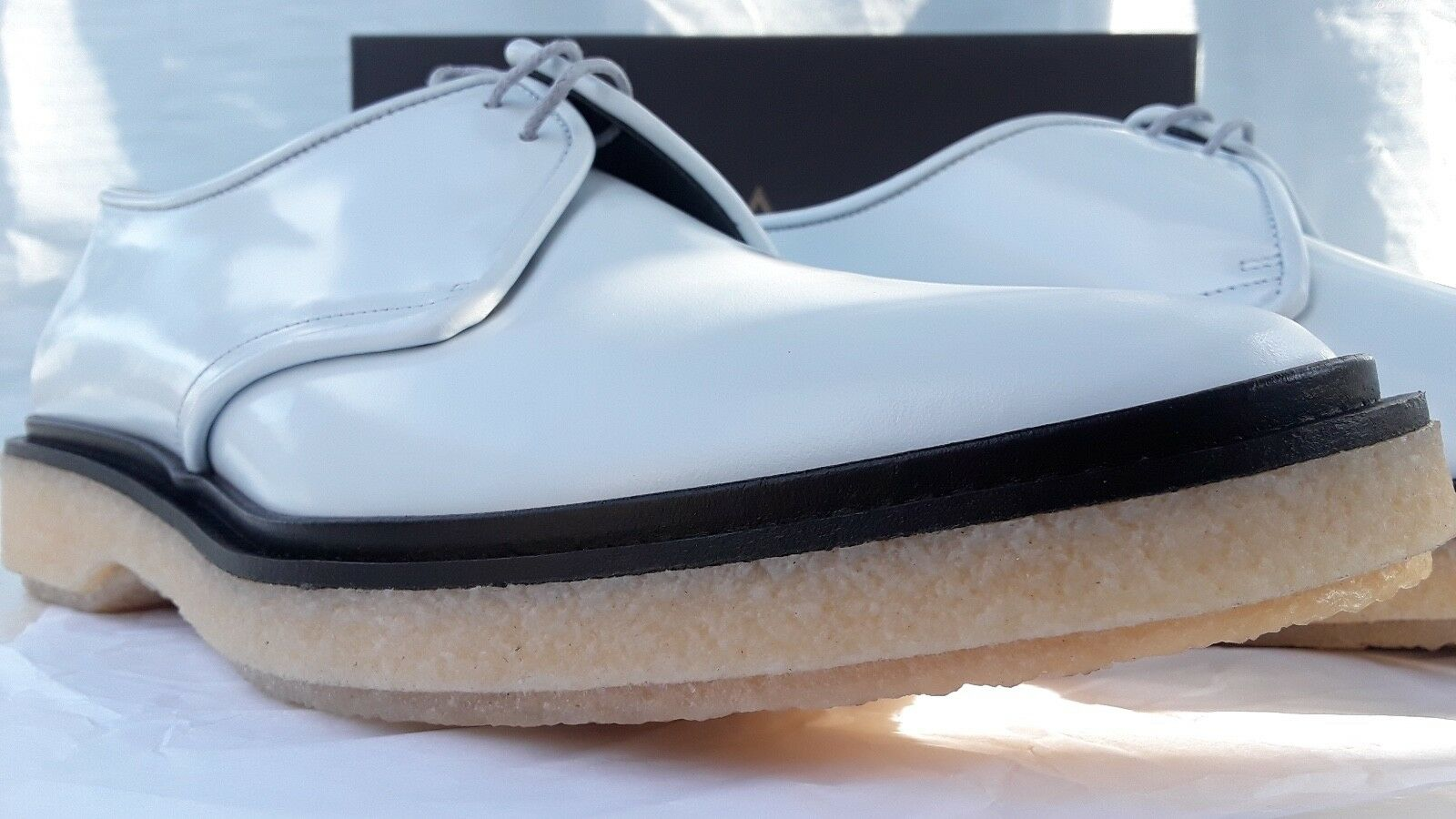 ADIEU Paris Men scarpe stivali Derby Creeper Casual Dress Formal Hand Made Dimensione12