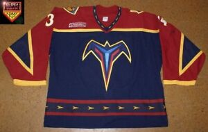 Atlanta-Trashers-99-00-No-34-Norm-Maracle-blue-red-away-18-games-1W-12