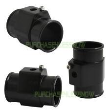 Water Temp Temperature Gauge Radiator 18 Npt Sensor Hose T Adapter Black 34mm