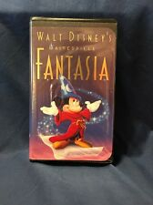 Vintage RARE WALT DISNEY'S MASTERPIECE ~ FANTASIA ~ VHS TAPE #1132