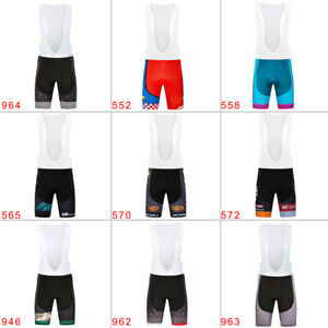 New-Man-Men-039-s-Cycling-Bib-Shorts-3D-Pad-Riding-Bicycle-Team-Short-Pants-Bike