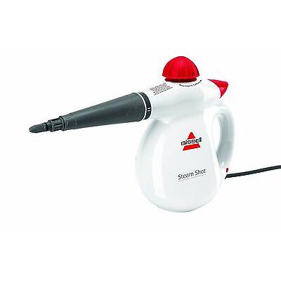 Bissell Steam Shot 2635 Steam Shot Handheld Steam Cleaner 1000W 360ml Cap White
