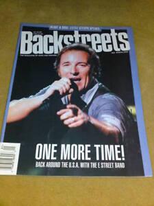 Details about BRUCE SPRINGSTEEN - BACKSTREETS MAG Spring 2000 No 66