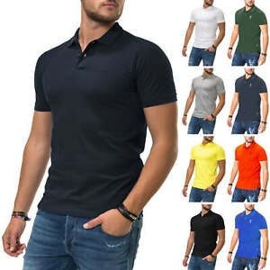 Jack-amp-Jones-Hommes-Poloshirt-Polo-Manches-Courtes-Shirt