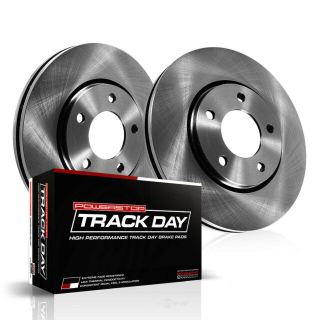 Disc Brake Pad And Rotor Kit-Track Day Brake Kit Front
