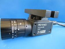 Keyence CV-H035M High-Speed Digital Camera w/ Edmund 59872 Lens, Cable & Mount
