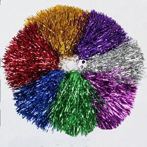Cheerleader-Pom-Poms-Waver-Fancy-Dress-Costume-Pompoms-Dance-Hen-Party-Decor-hj