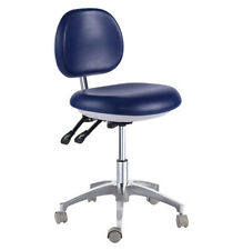 Dental Mobile Chair Doctor's Stool PU Leather Dentist Seat Height Adjustment 500