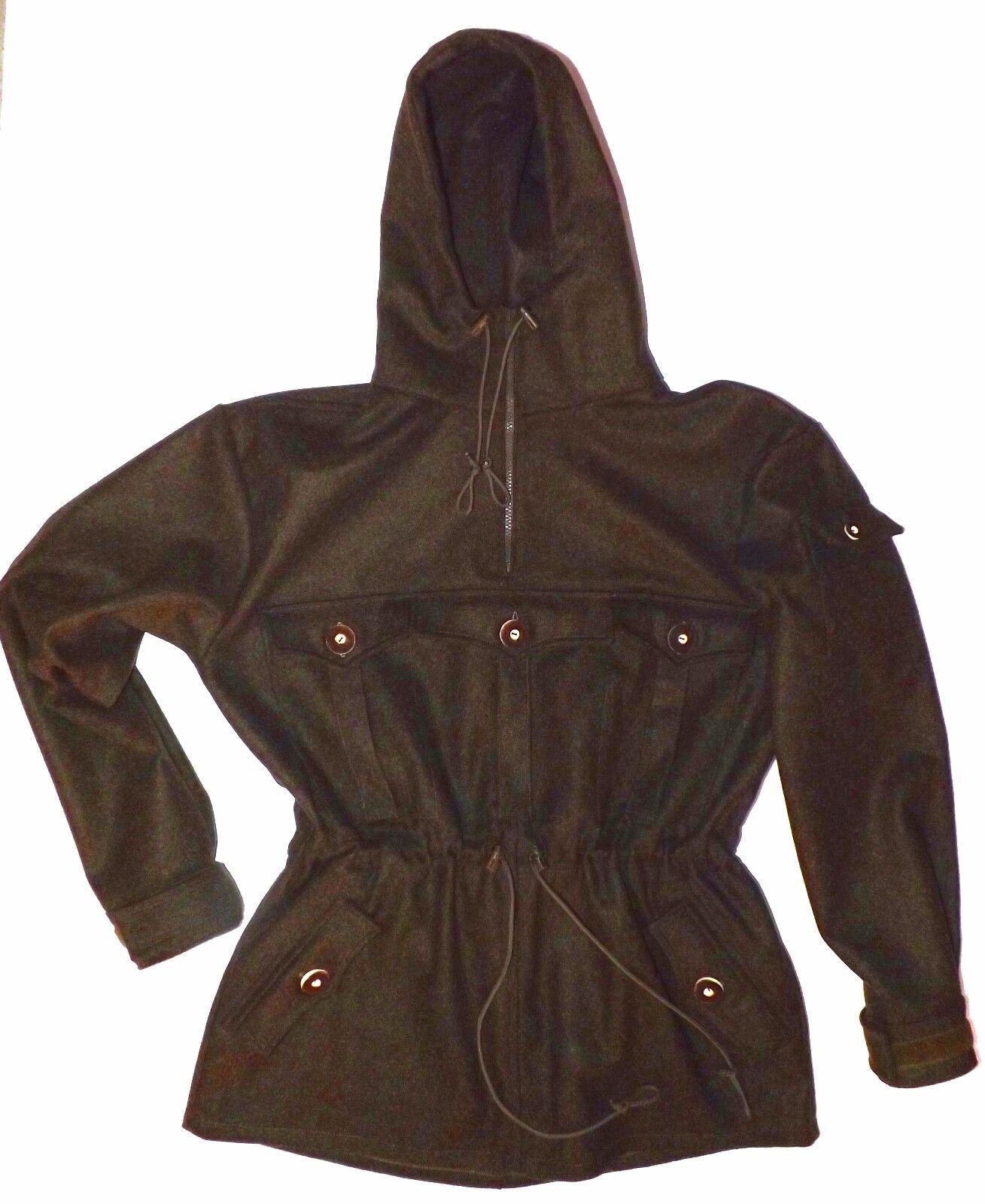 Nuevo schlupfjacke-caza chaqueta anorak de gebirgsloden marrón o verde cazador