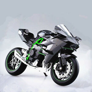 Original Maisto 112 Kawasaki Ninja H2r Motorcycle Model Bike New In