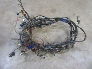 1956 Oldsmobile 88 98 interior under dash wiring wire ...