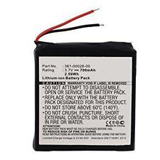 700mAh 361-00026-00 Battery Replacement for Garmin Forerunner 205, 305 GPS Watch